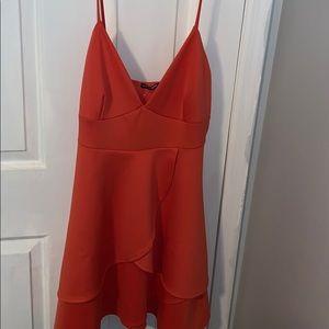 Fashion Nova coral dress